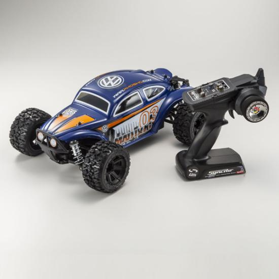 1/10 EP 4WD r/s MAD BUG VE T2 Navy (배터리/충전기 포함)